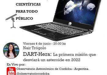 Conferencia Científica: Primera misión que desviará un asteroide en 2022