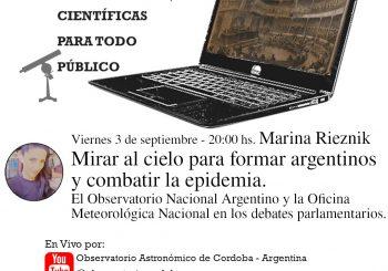 Nueva conferencia científica para todo público