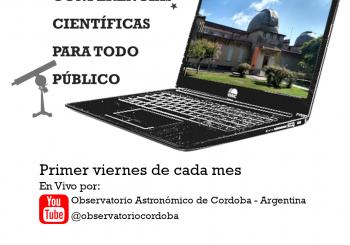 LLegan las conferencias científicas para todo público