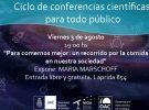 Llega la cuarta conferencia científica para todo público al OAC