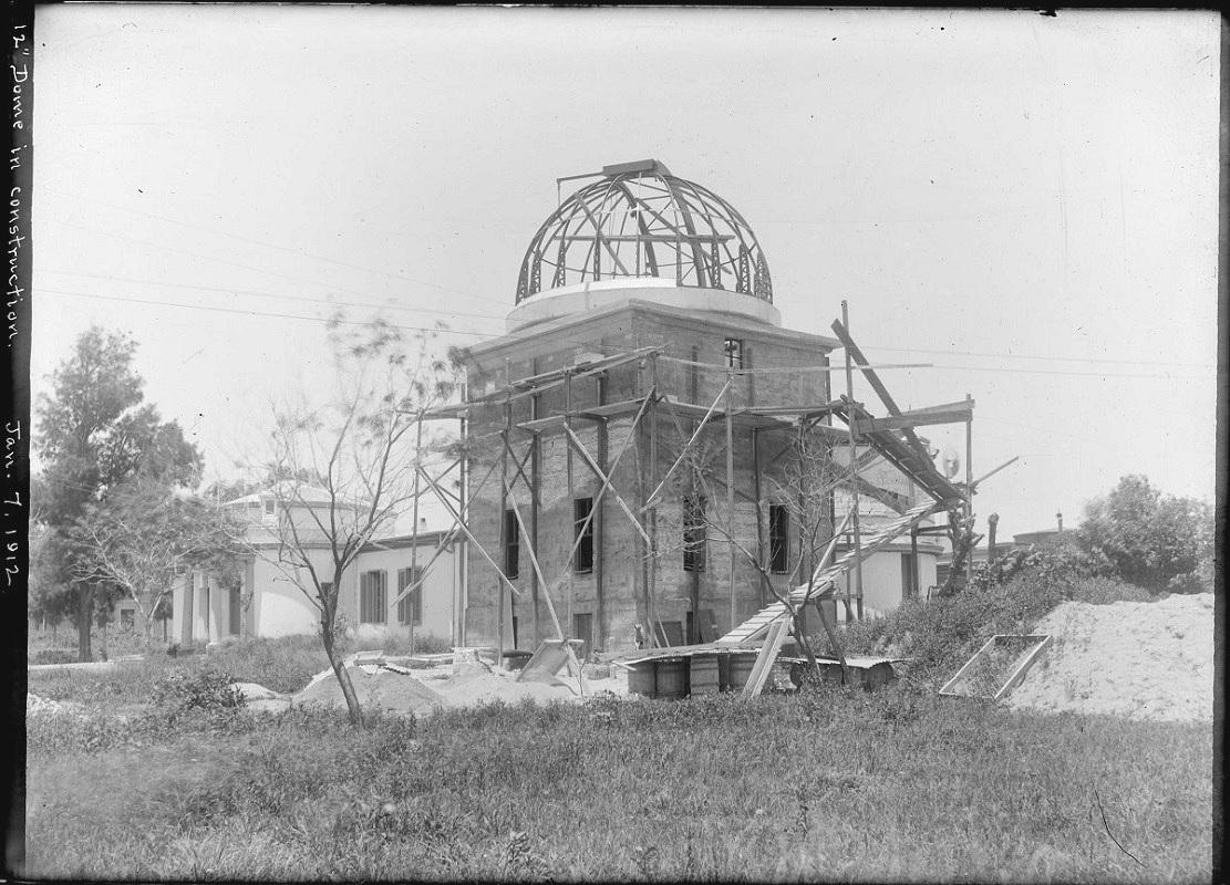 Construccion primer cupula de Cordoba 1912
