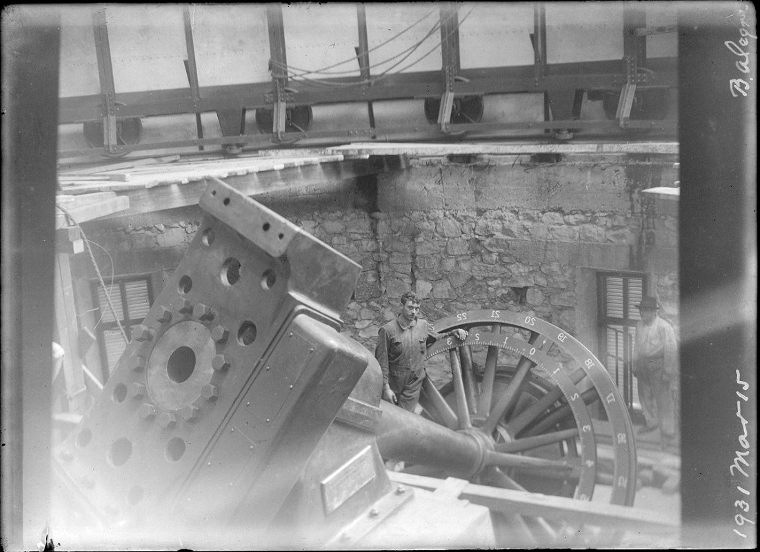 Montaje telescopio 154 EABA 1931